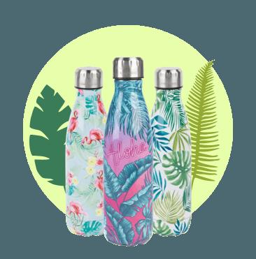 Green Flask Bottles