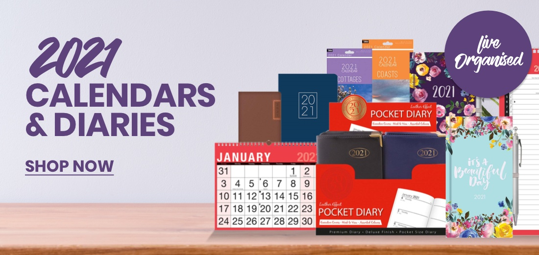 2021 Wholesale Calendars and Diaries
